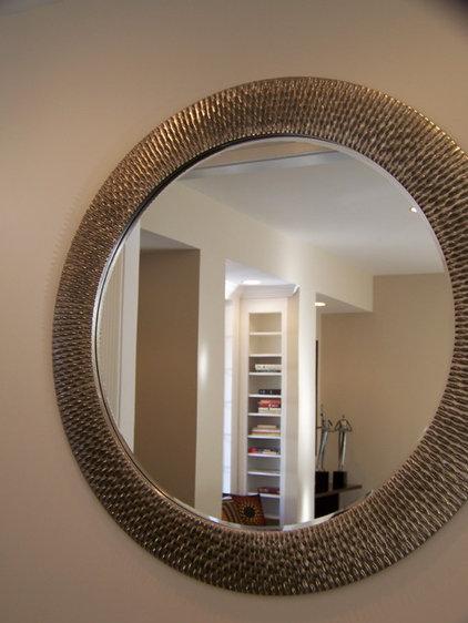 Contemporary Family Room by Nina sobiNina Design