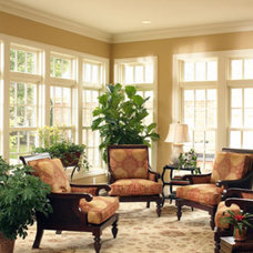Traditional Family Room by J.S. Brown & Co.