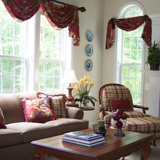 Traditional Family Room by A.HICKMAN Design