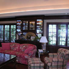 Traditional Family Room by A. James Gondeck, G.C.