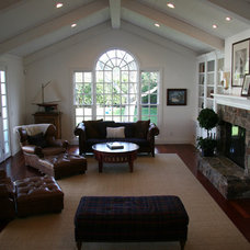 Traditional Family Room by Design Discoveries