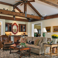 Traditional Family Room by Gardner/Fox Associates, Inc