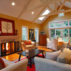 Traditional Family Room by Sellars Lathrop Architects, llc