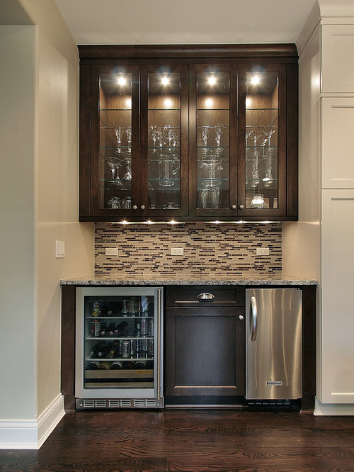 Wet bar design home design ideas pictures remodel and decor - Bar built into wall ...