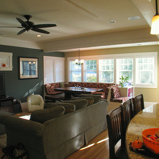 Example of a classic family room design in Sacramento