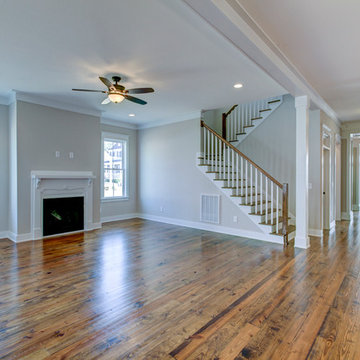 Family room & foyer