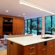 Contemporary Family Room by David Benners Architecture
