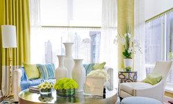 Family Room & Kitchen: James Rixner Interior Design