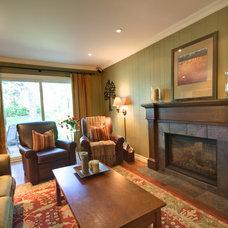 Family Room by Avalon Interiors