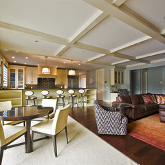contemporary family room by Begrand Fast Design Inc.