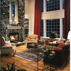 Traditional Family Room by Window Wear Etc