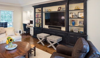 Family Room Built In