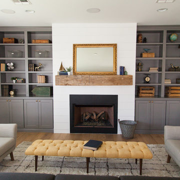 Family room by Rafterhouse