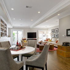Traditional Family Room by Cardea Building Co.