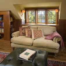 Traditional Family Room by Choice Wood Company