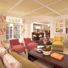 Eclectic Family Room by Choice Wood Company