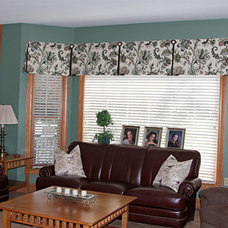 Traditional Family Room by Christine's Windows Etc.