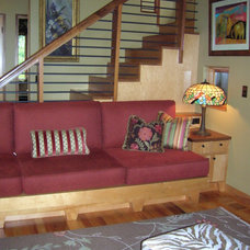 Eclectic Family Room by Christine Sutphen, ASID, NCIDQ