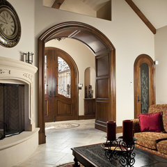 traditional family room by Claudio Ortiz Design Group, Inc.