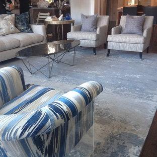 Family Room Contemporary Carpets