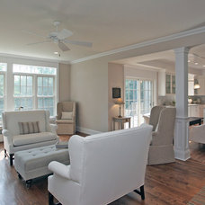 Traditional Family Room by Corbo Associates Inc.