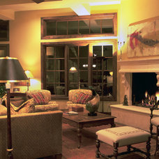 Traditional Family Room by Cravotta Interiors