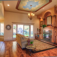 Mediterranean Family Room by Creative Concepts - Home Staging and Contracting