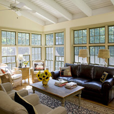 Traditional Family Room by Current Works Construction Inc.