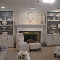 Eclectic Family Room by Cynthia Stipe Merrick