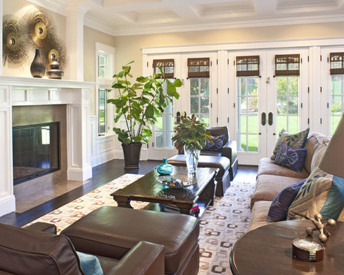 French country family room houzz for French country family room