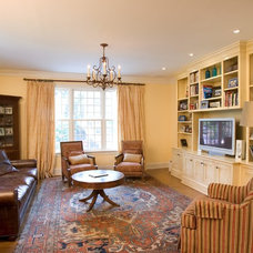 Traditional Family Room by Dennison and Dampier Interior Design