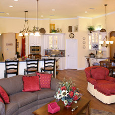 Traditional Family Room by Design Concepts by Jean