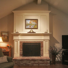 Traditional Family Room by LP Designs