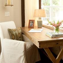 Desk in the living room