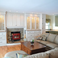 Traditional Family Room by Dilworth's Custom Design