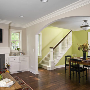 Family Room, Dining Room & Staircase