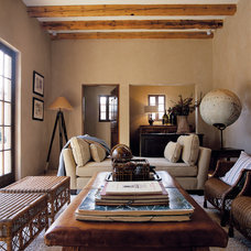 Rustic Family Room by Don Ziebell