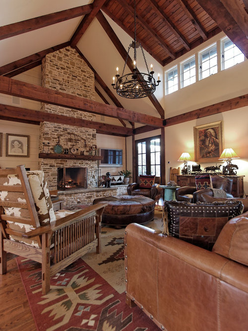 Sherwin williams muslin home design ideas pictures remodel and decor - Western decor ideas for living roommake a theme ...