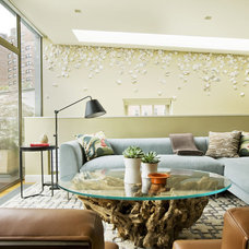 Midcentury Family Room by Dufner Heighes Inc