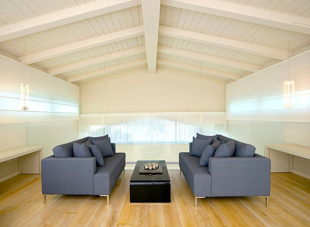 Contemporary Family Room by Elad Gonen