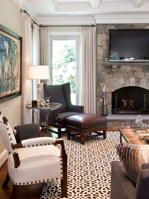Painting Stone Fireplace Houzz