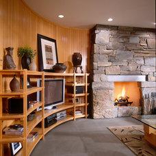 Contemporary Family Room by Choice Wood Company