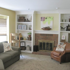 Traditional Family Room by Ins & Outs Decorating, LLC