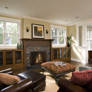 Family Room Fireplace & Built Ins