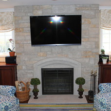 Traditional Family Room by Great Rooms Designers & Builders