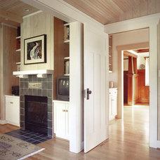 Craftsman Family Room by Tim Andersen Architect