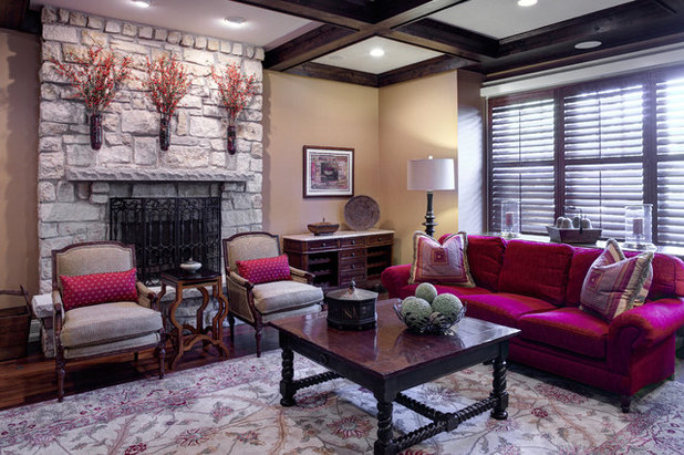 American Traditional Family Room by Designing Edge
