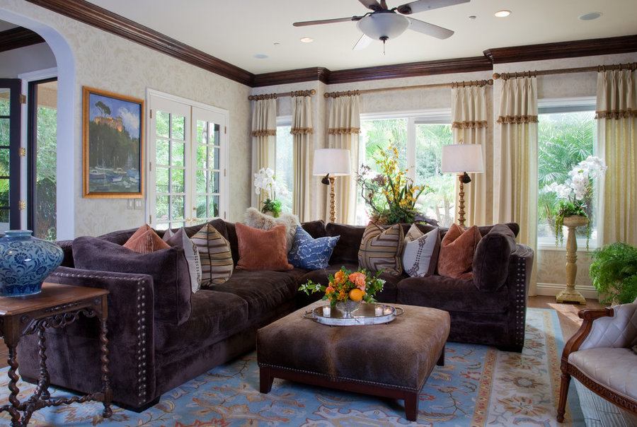Family Room for Vicki Gunvalson of the RHOC