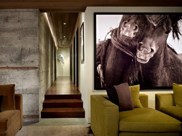 Contemporain Salle de Séjour by Garret Cord Werner Architects & Interior Designers
