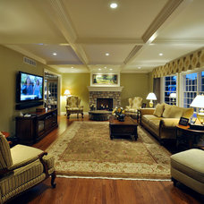 Family Room by Gehman Design Remodeling